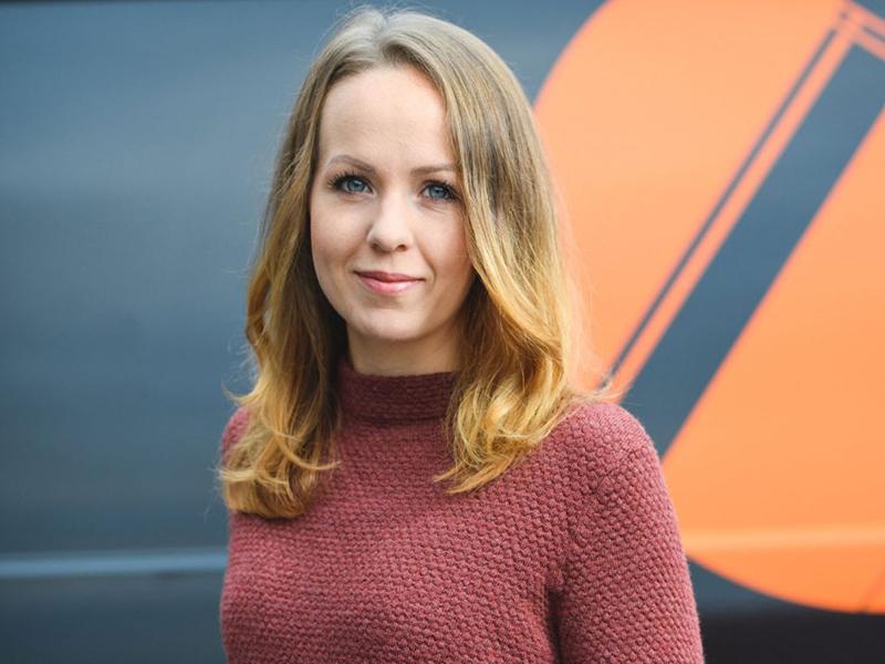 Ekonomi- och personalansvarig Susanna Gil Östgöta Mobilkranar