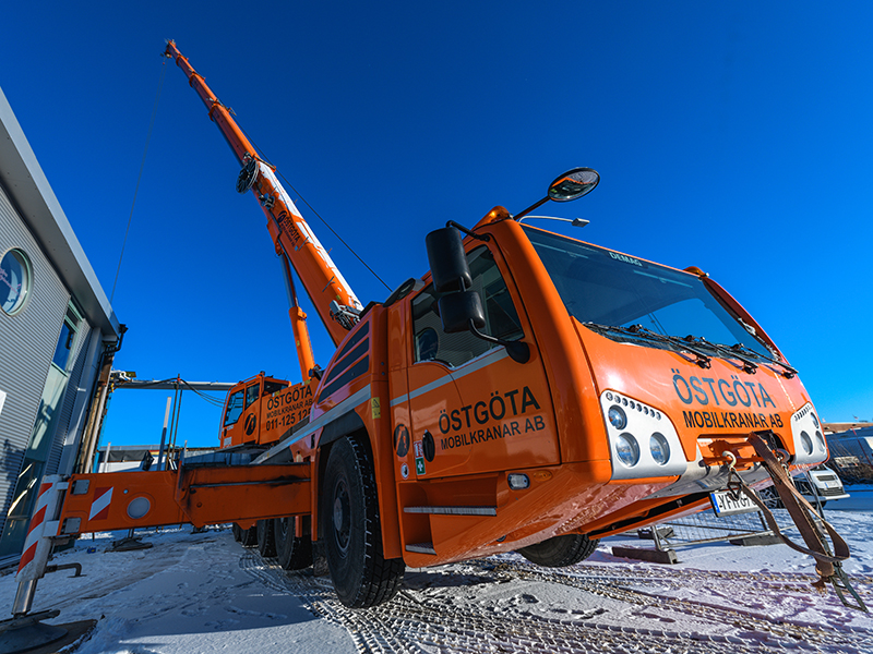 Mobilkran 160 ton